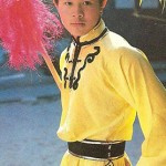 The young Jet Li probably the most famous wushu star