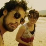 Kazu with Jeeja in Raging Phoenix beach slap scene