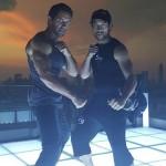 Kazu with Scott Adkins for Hard Target 2 new