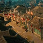 Authentic Chinese architecture is rendered beautifully