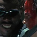 Blade faces off with Deacon Frost