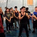 Established Stunt Performers are guest tutors
