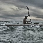 Kayaking on the high seas