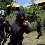 Ninja boot camp in full swing