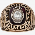 1974 Muhammad Ali Two Time World Champion Ring