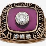 1978 Muhammad Ali Three Times World Champion Ring