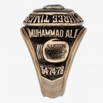 1978 Muhammad Ali Three Times World Champion Ring side view