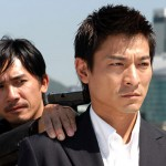 Another gun pointed at me Infernal Affairs