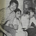 Bruce and Chuck Norris visit Angela Mao ying on the set of When Tae Kwon Do Strikes