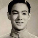 Bruce at 14 years old in his school uniform Hong Kong