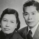 Bruces mother and father Mr Mrs Lee Hoi Chuen