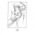 Combine with abrupt force to injure or break opponents wrist