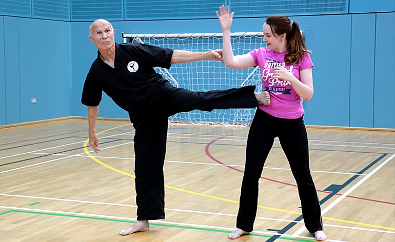 """Bill """"Superfoot"""" Wallace seminar -Kung Fu Kingdom"""