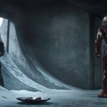 Cap and Iron Man face off