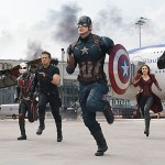 Cap leads the way into the battle