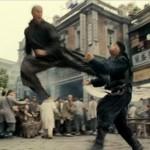 Cung Le lands a kick on Donnie Yen