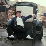 Chans ingenuity shines through as he uses a rickshaw
