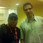 Larnell meets Mortal Kombat co creator Ed Boon