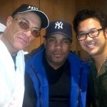 Larnell with Kevin Tancheron and Jean Claude Van Damme