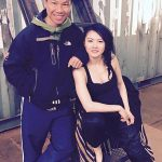 Jenny with Ming assistant fight choregrapher for Lady Bloodfight
