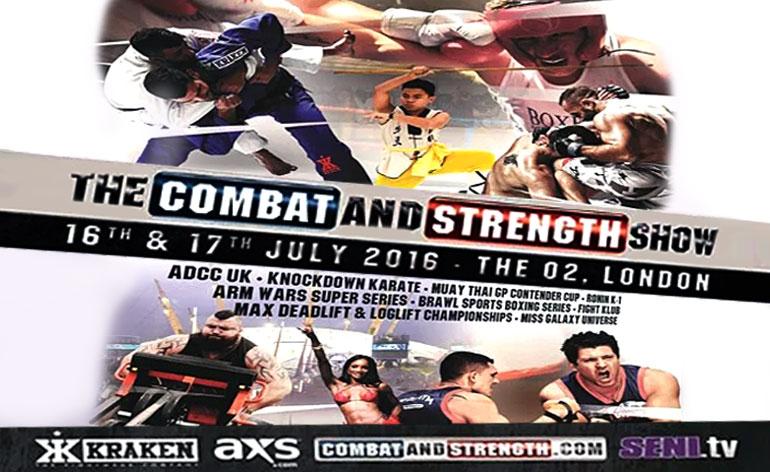 SENI Combat and Strength show hits London 16-17 July! - Kung-Fu Kingdom