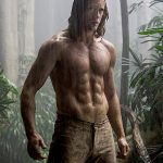 Tarzan literally figuratively caught the middle of a storm