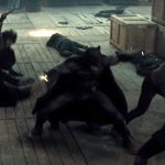 Four opponents is nothing for Batman