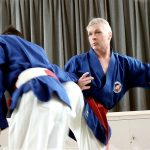 Hanshi Wilson executes a swift kick