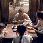 Liu leads a simple family life