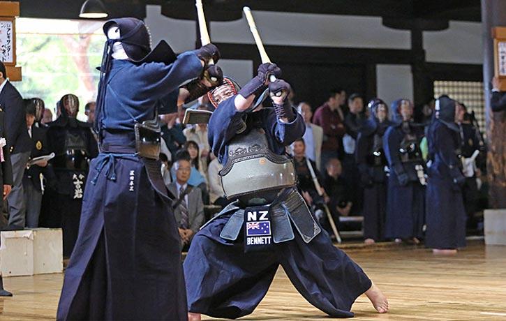2014 Kyoto Taikai the Shikake is in full swing