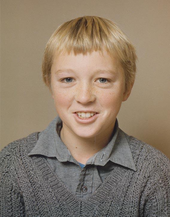 Alex Bennett at 10 years old