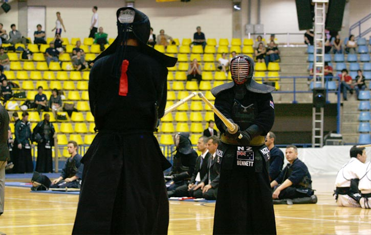 Fighting the Japanese Captain at the 2009 WKC in Brazil