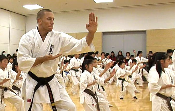 Georges St Pierre goes back to his karate roots