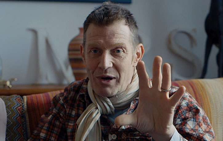 Jason Flemyng recalls sharing a trailer with Lenny