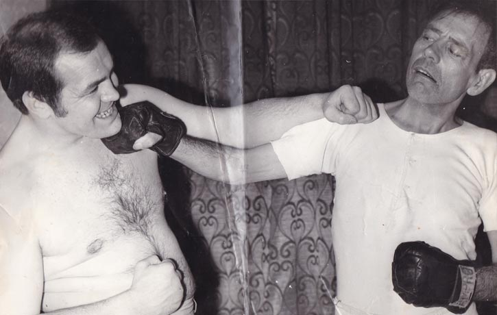 Lenny McLean posed punch aged 26