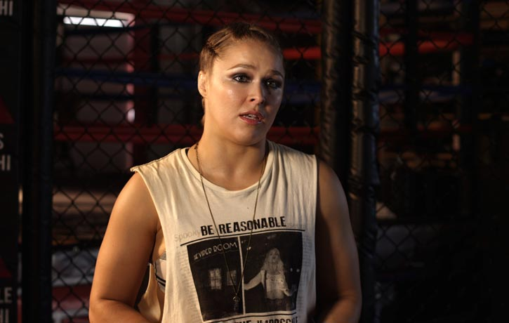 MMA legend Ronda Rousey shares her UFC fighting experiences
