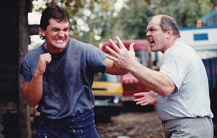 McLean trains actor Craig Fairbrass who was tipped to play him in a movie