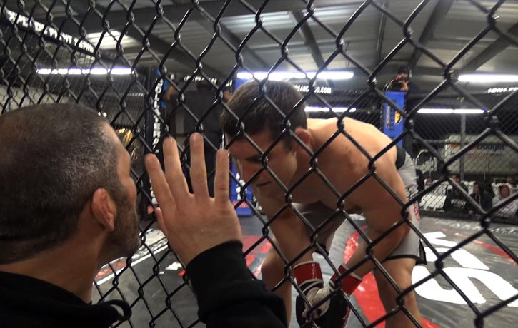 Mike Guymon offers some fight tips from outside the cage