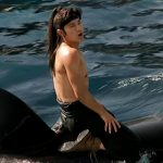 Andy Lau swam with a real Killer Whale