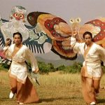 The kite attack was artistically filmed