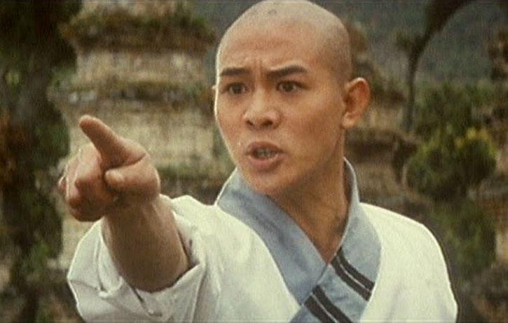 Jet Li is Lin Zhi-ming