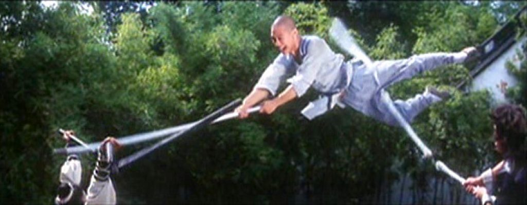 Jet Li takes on two San Jie Gun