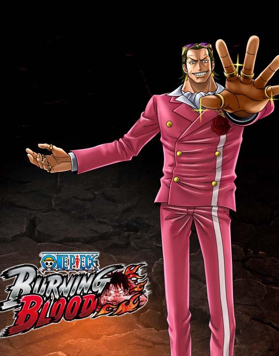 One Piece Burning Blood Gildo Tesoro