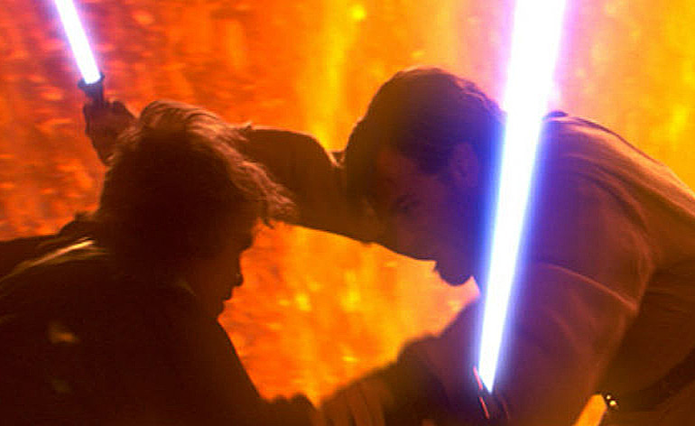 Star Wars Lightsaber fight Kung Fu Kingdom 770x472
