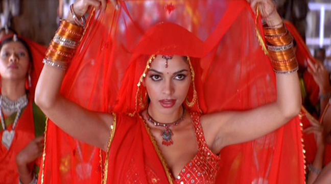 Glamorous Bollywood star Mallika Sherawat plays Samantha