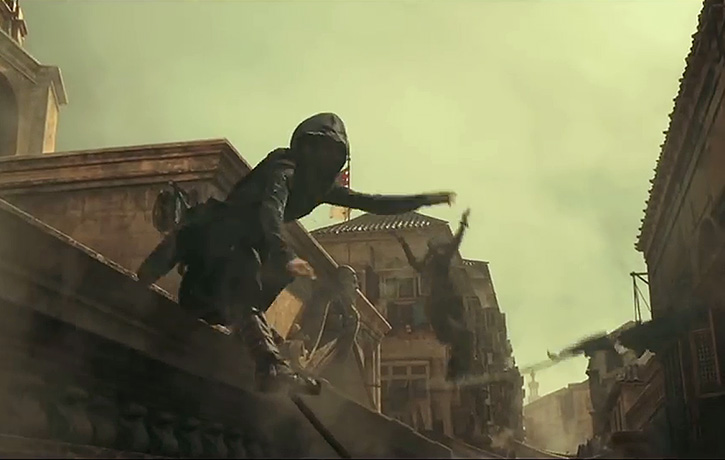 The Assassin's Creed are masters of parkour