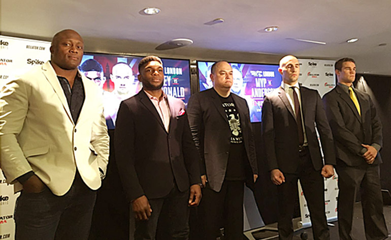 Bellator MMA 179 Press Conference with Rory MacDonald Kungfu Kingdom 770x472