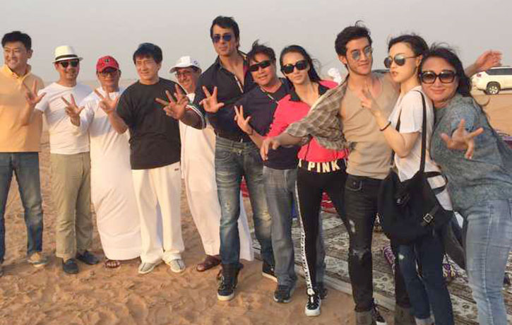 Kung Fu Yoga also went to Dubai