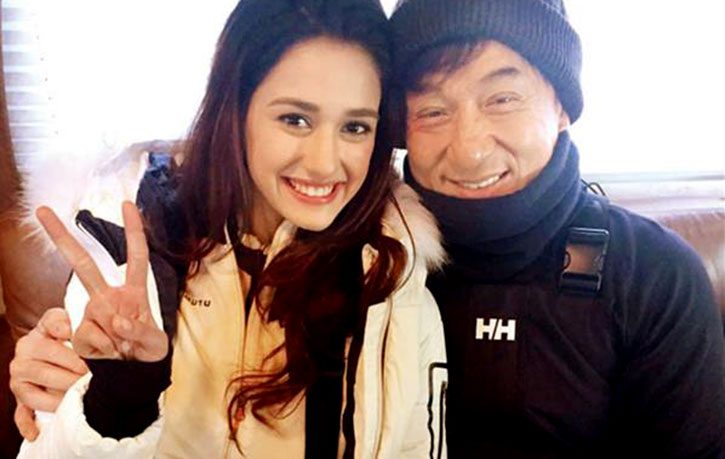 Kung Fu Yoga went to Iceland