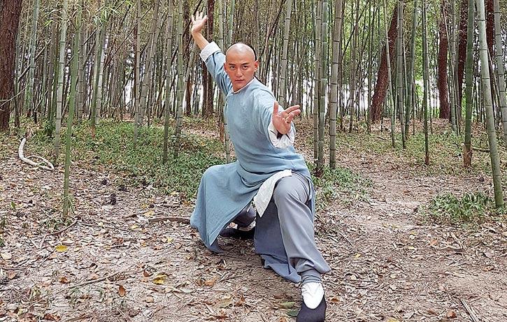 Real life Chinese martial arts coach Sun Hao Ran stars as Wong Kei Ying
